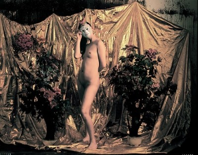 Portraits 2003-09   Woman Nude with Wu Kong Mask