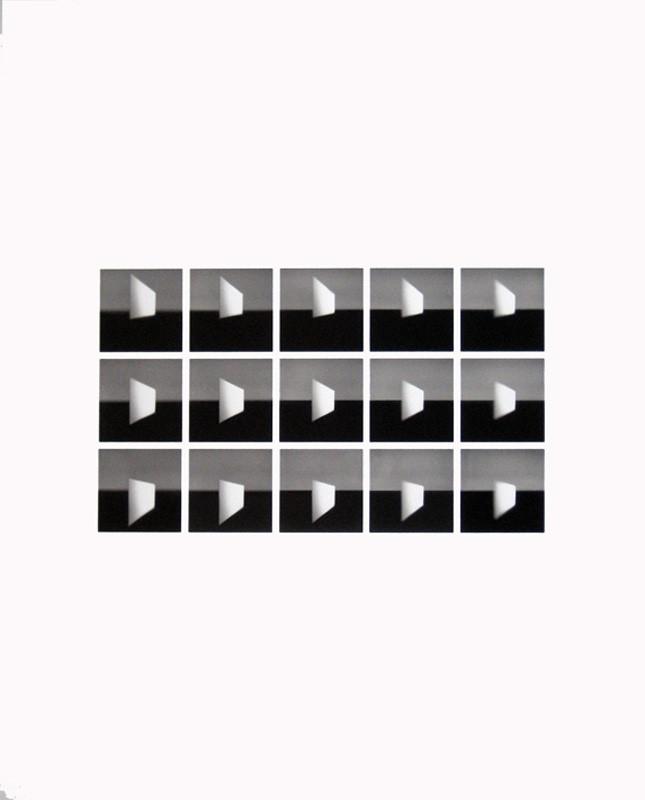 Flächen 2.1969-2010. 50 x 40 cm