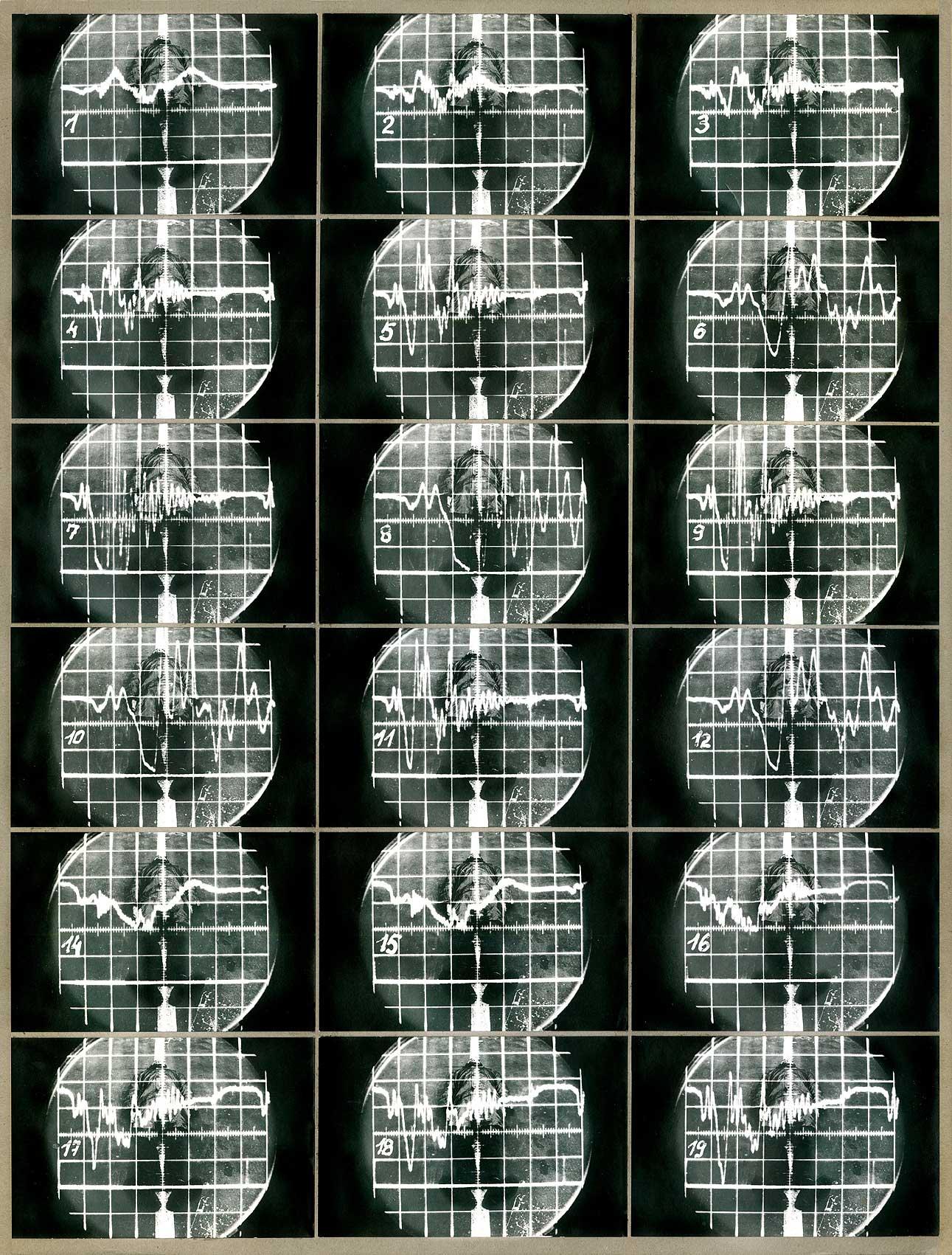Kurt Buchwald - Überliegender 1982 56 x 43 cm
