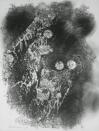 HEINZ HAJEK-HALKE. Blumen für Andrea, 1969