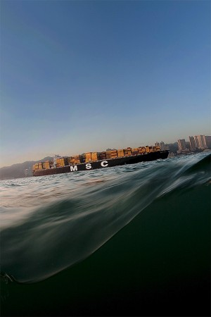 New Territories. From a Boat near Pak Wan. 2009