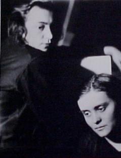 Gertruda Fischerova (Rosslerova) and Jarmilla Rambouskova, 1924