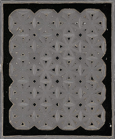 "PIERRE CORDIER & GUNDI FALK. Chimigramme 8/4/14 ""Voltagramme"", 2014. Chemigramm. Unikat. 60 x 50 cm"