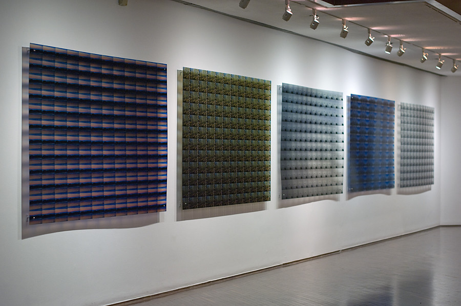 144 landscapes series, 2011. Ink print on 2 mm flexible metacrylate. 133 x 200 cm