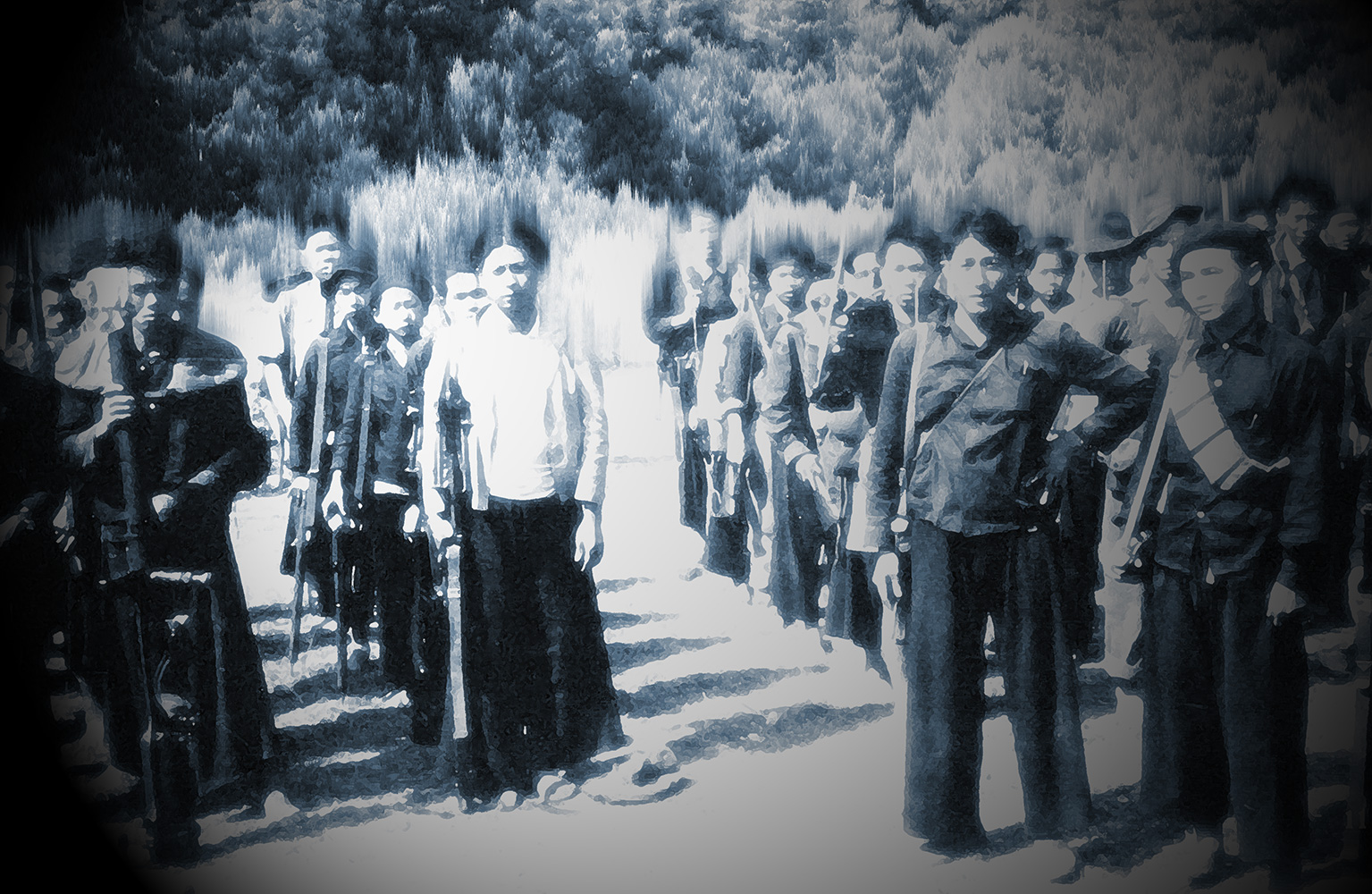 Anti communist Hmong soldiers
