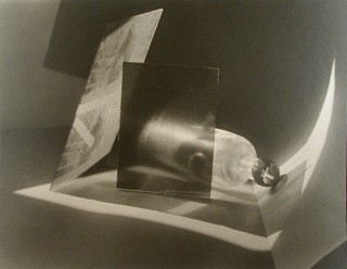 Jaromir Funke: Composition (bottle and glass), 1927 / 1995 Part of portfolio