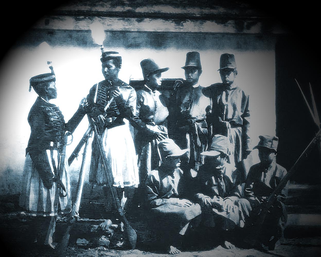 Royal Guards, 1866