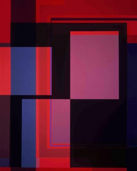 Black Route, 2004. 127 x 101,6 cm