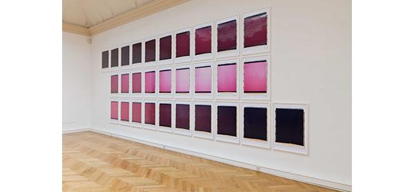 rot, 15.8.2006, 6.31-20.17 Uhr. Landesgalerie Linz, 2008
