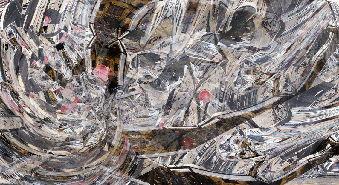 Athens,  100 x 182 cm, 2011