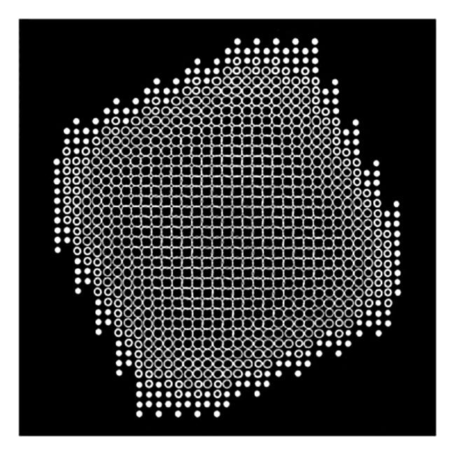 Lochblendenstruktur 3.8.14 D2.1, 1967