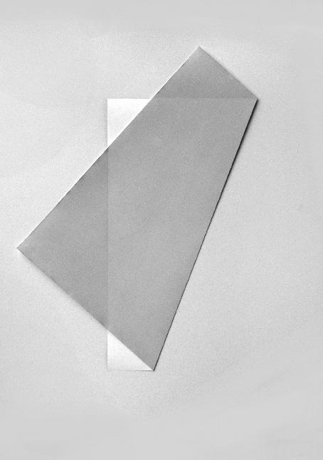 Faltblatt. Fotopapierarbeit-X , 2000