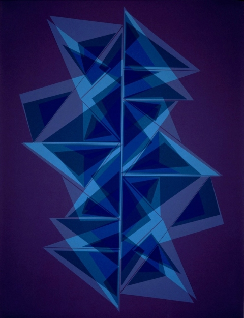Couplet, 2005.  127 x 101,6 cm