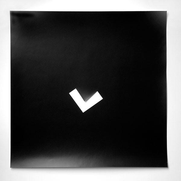o.T. Fotopapierarbeit XIII, 1995. 50 x 50 cm