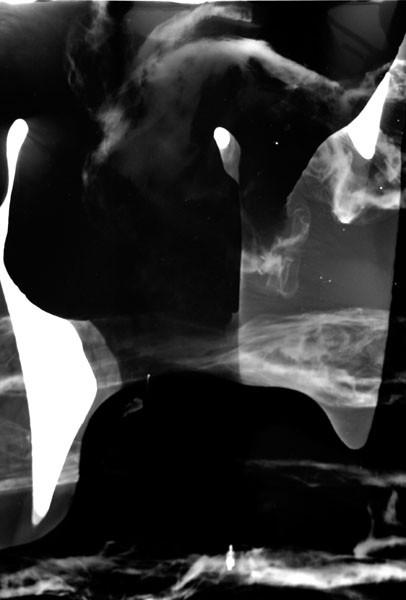 Ohne Titel, 30 x 40 cm, 2009, Unikat