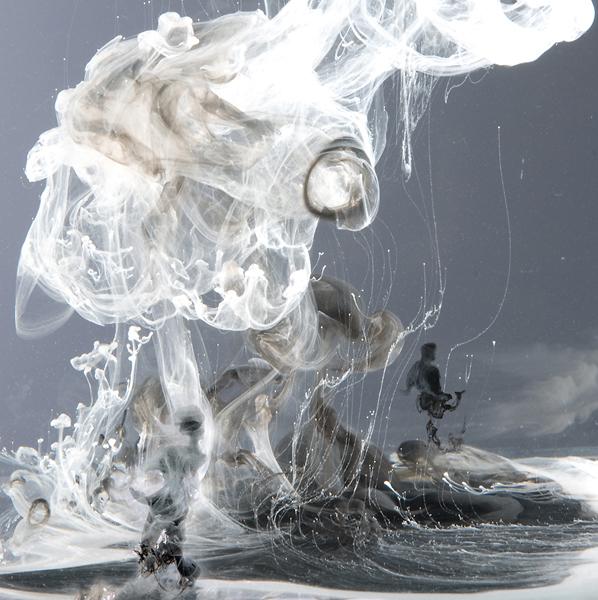 photographic ink & wash   Gazing Afar