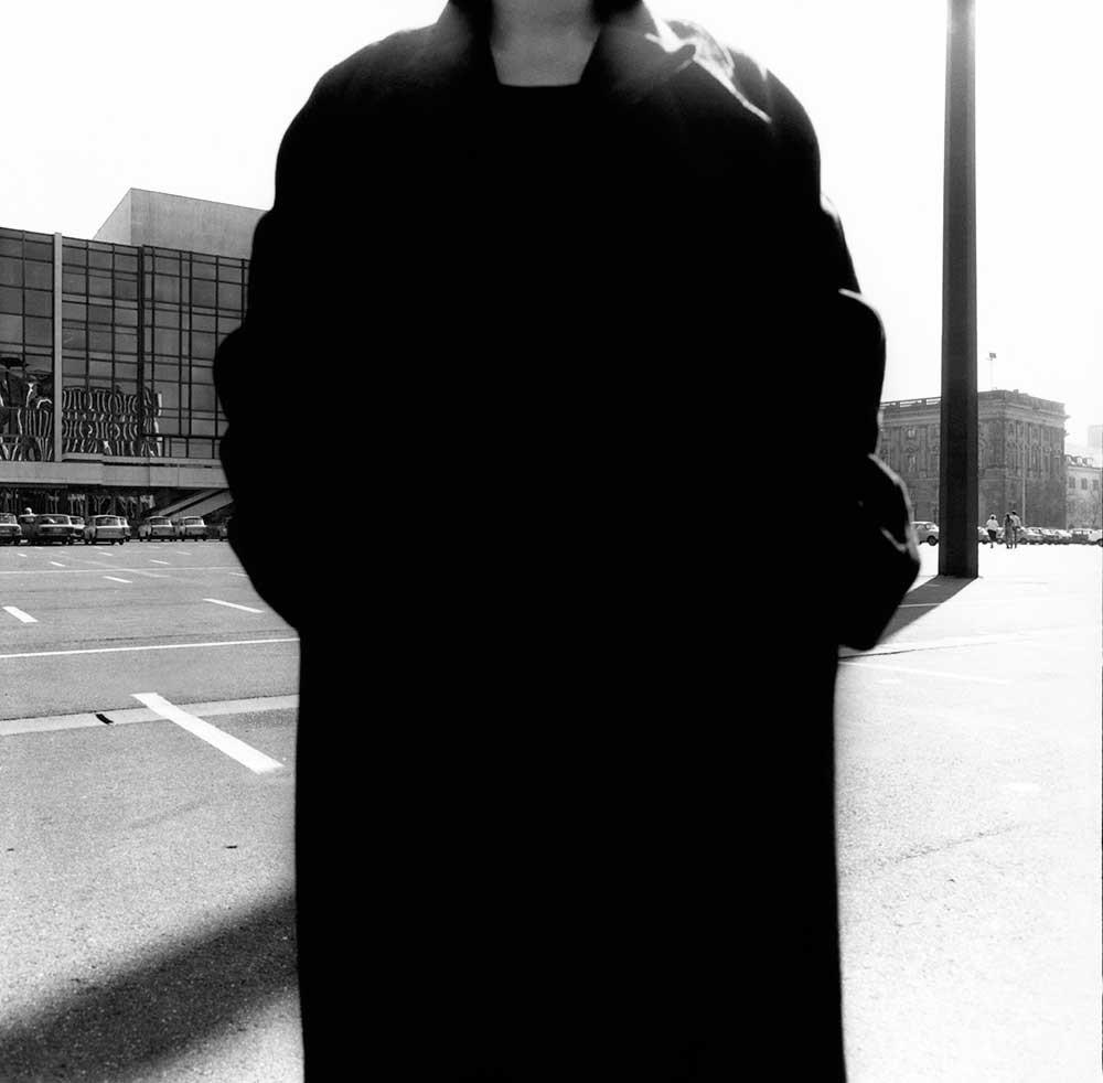 12Uhr, 1986. Marx-Engels-Platz (ab 1994 Schlossplatz), Berlin