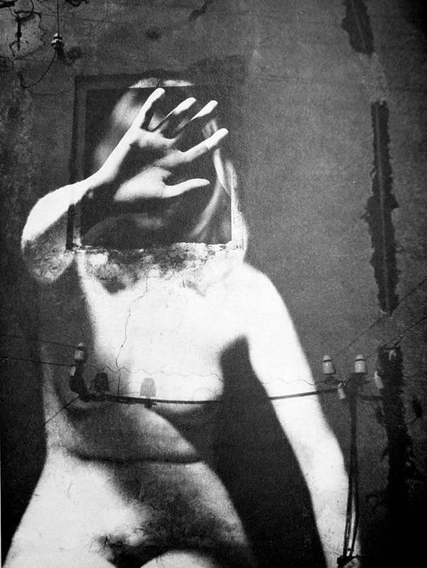 Ladislav Postuba, Conscience, Silver Gelatine Print, signed, 1966 Vintage,