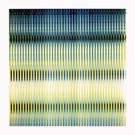 KARL-MARTIN HOLZHÄUSER. Lichtmalerei. 88.25.2001. Unikatbelichtung auf PE-Colorpapier. 133 x 133 cm