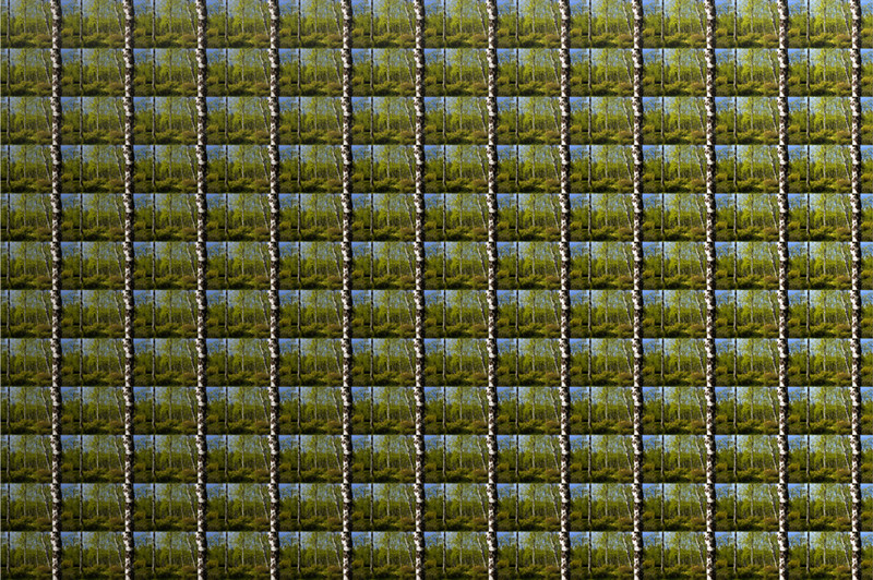 P5, 2011. 144 landscapes series. Ink print on 2 mm flexible metacrylate. 133 x 200 cm