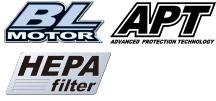 APT・BLモータは、ハンマドリルに適応。
