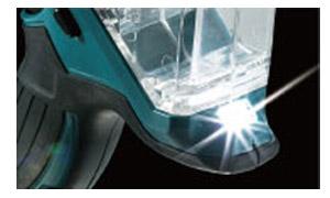 高輝度LED搭載、墨線を明るく照らし、追いやすい