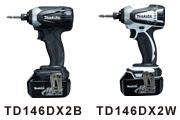 TD146DX2B・TD146DX2Wカラーバリエーション