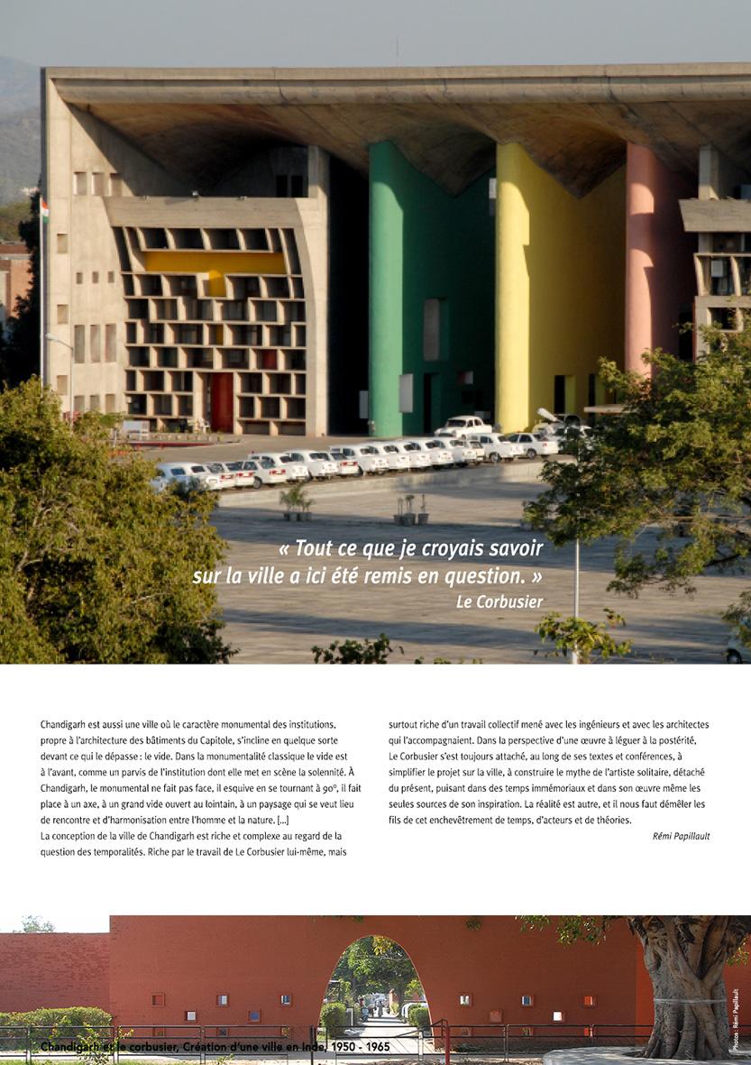 Chandigarh et le Corbusier