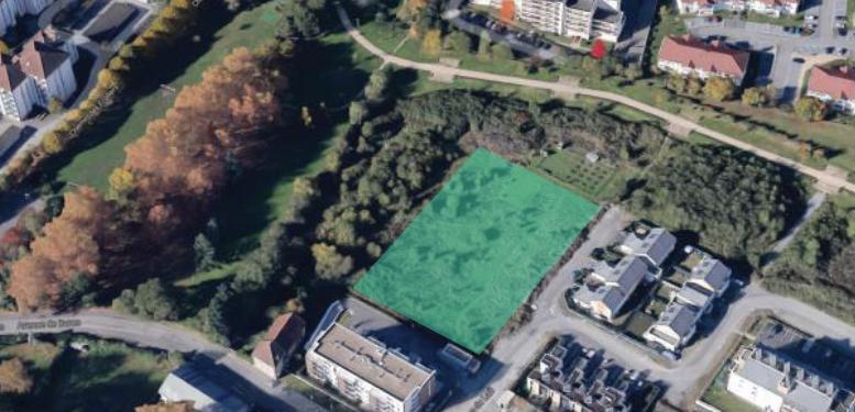 Parcelle projet d'habitat participatif des Jardins du Laü