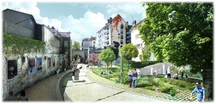 Projet de Centre Ville de PAU - le Hédas