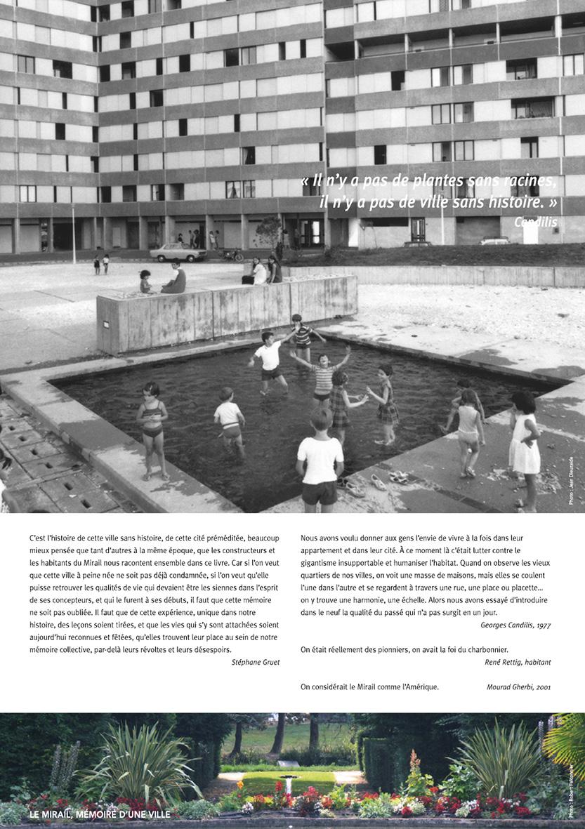 Le Mirail, Mémoire d'une ville
