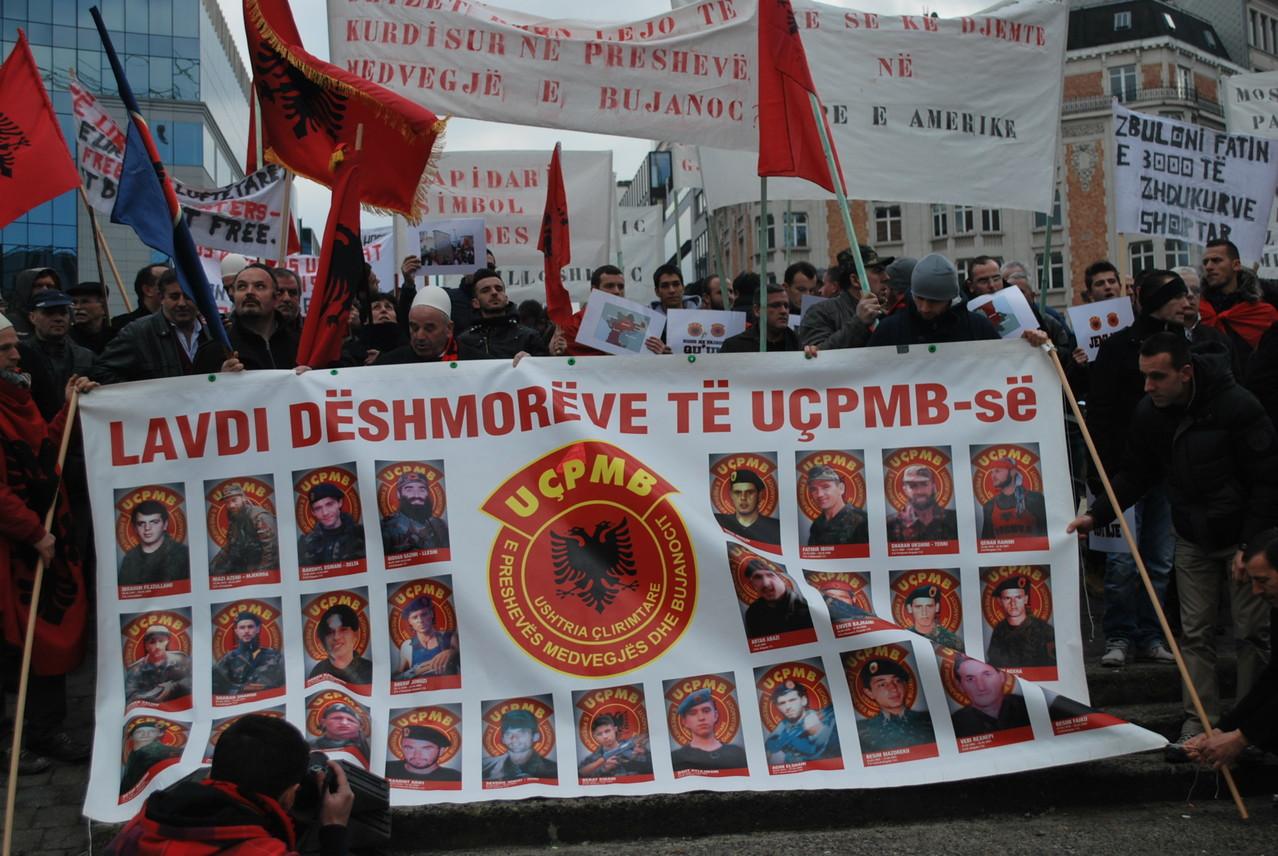 Protestat ne Bruksel me 09.02.2013