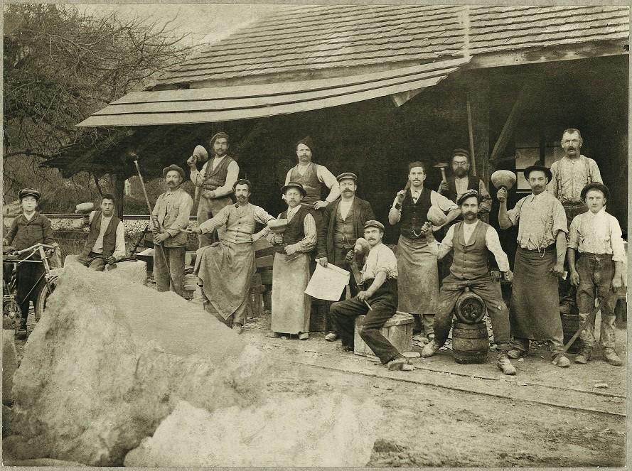 Steinbruch Arbeiter (1911)