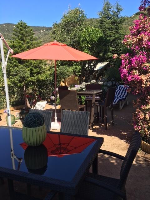 Le jardin - La maison de Ninette -