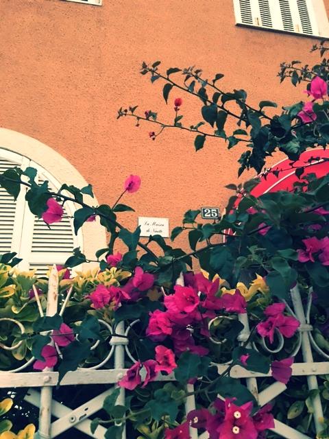 Vue de l'entrée de la maison de Ninette - La maison de Ninette -