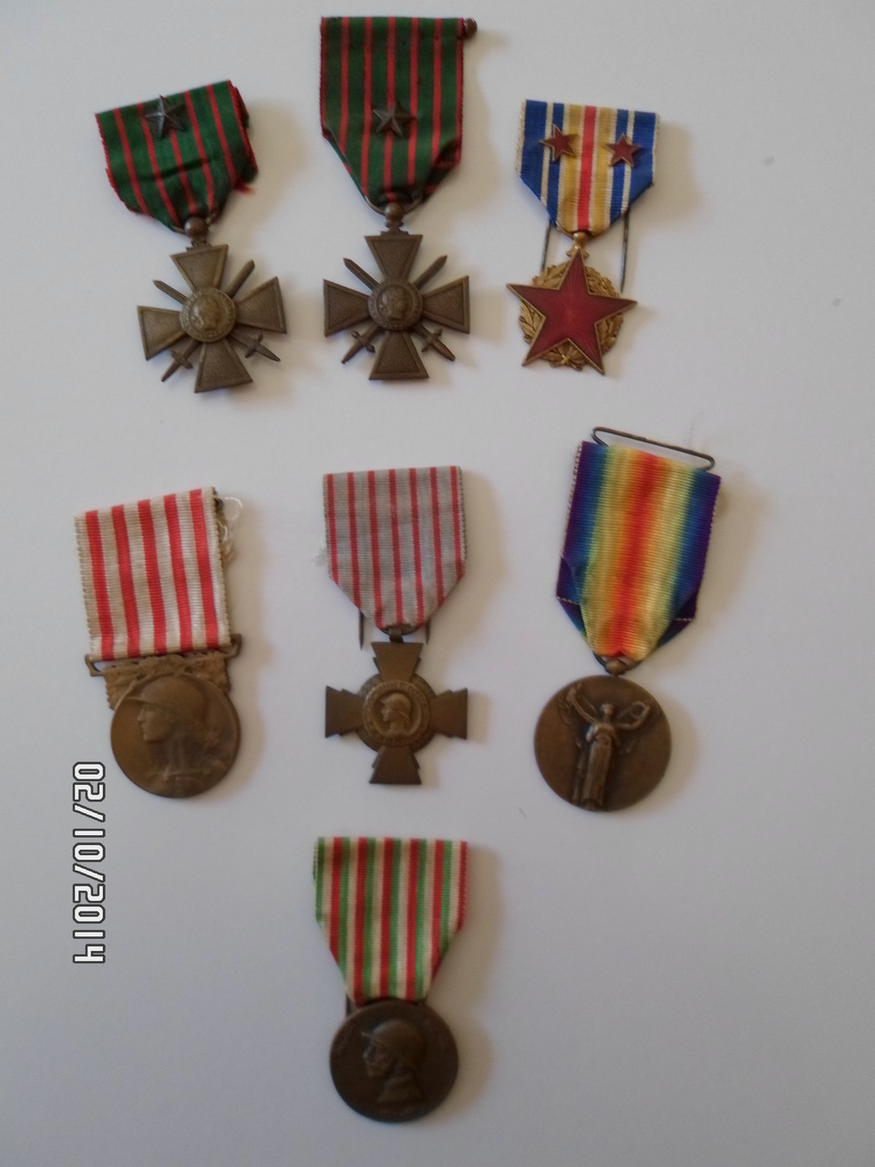 MEDAILLES MILITAIRES 1914 -1918