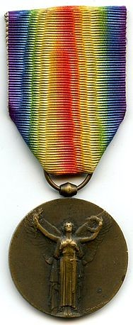 MEDAILLE INTERALLIES 1914 -1918