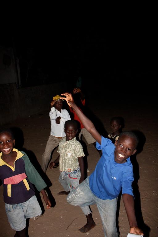 Abschiedsfest für zwei der Kinder im Kinderhaus