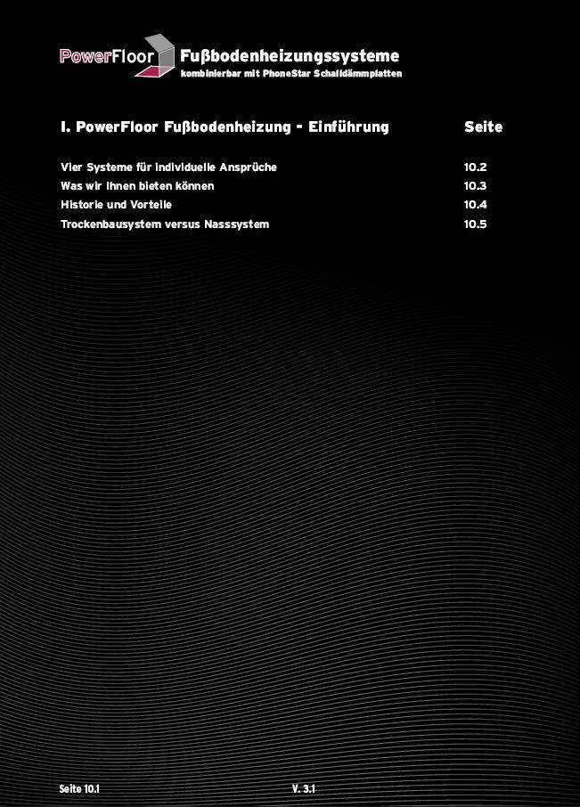 Inhaltsverzeichnis Kapitel 1