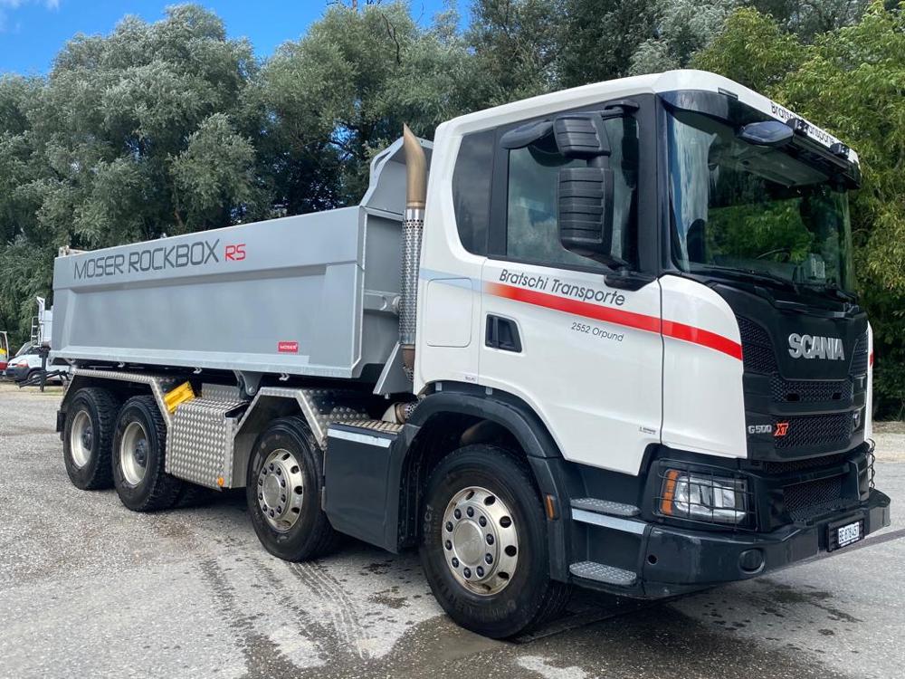 Scania 4- Achs Kipper