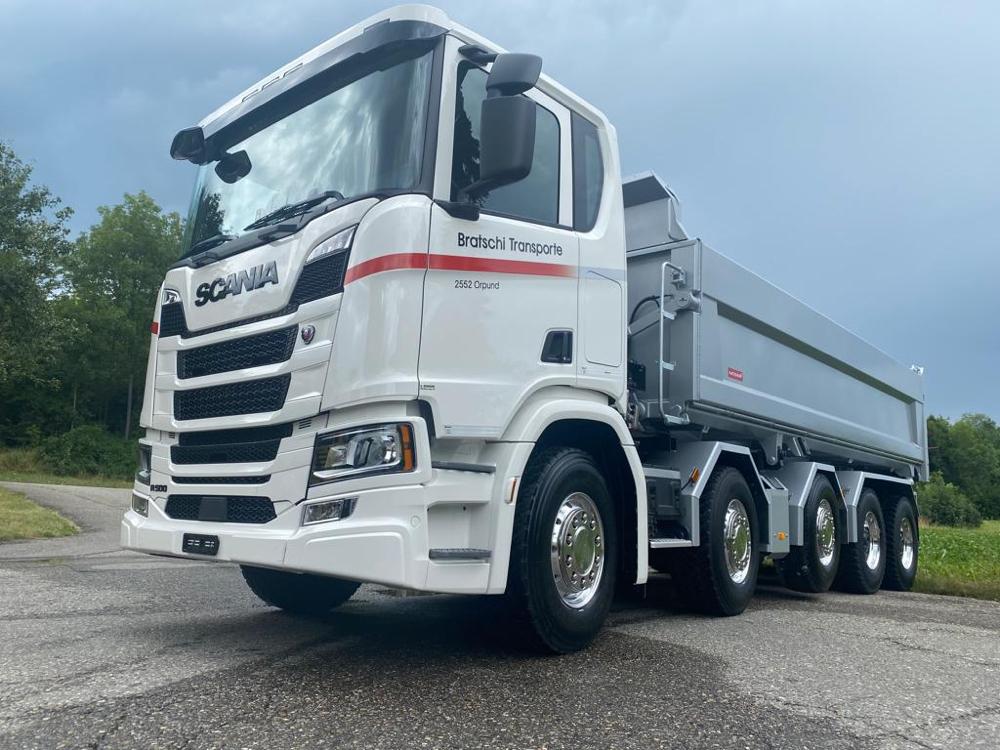 Scania R 500 Wechselsystem Thermosilowagen oder Zweiseitenkipper 24 to Nutzlast