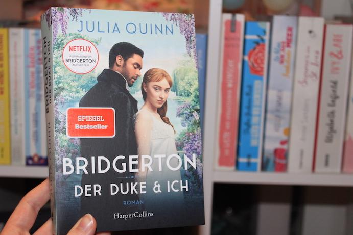 """Das Buch zur Netflix-Serie: """"Bridgerton"""", Bd. 1: """"Der Duke und ich"""" - Julia Quinn"""