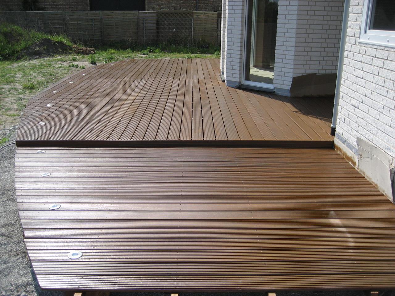Terrasse mit Massaranduba - Dielen