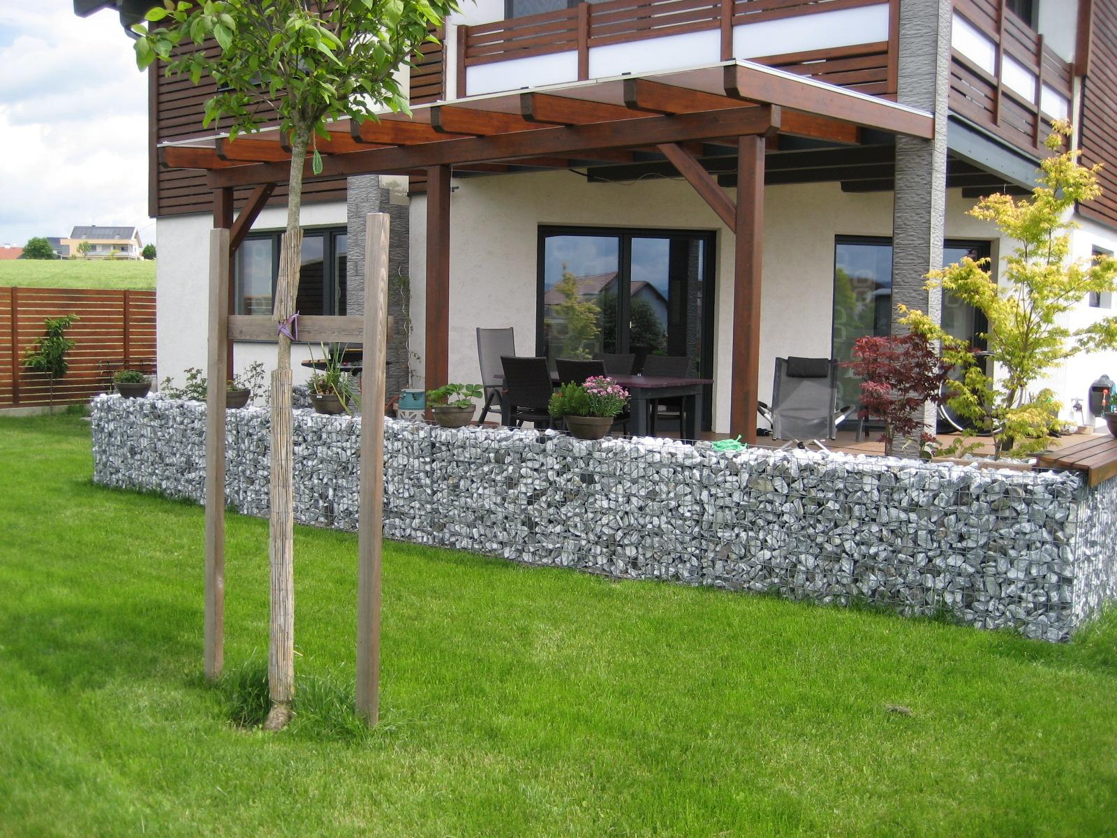 Terrassenüberdachung mit Thermoclear Stegplatten