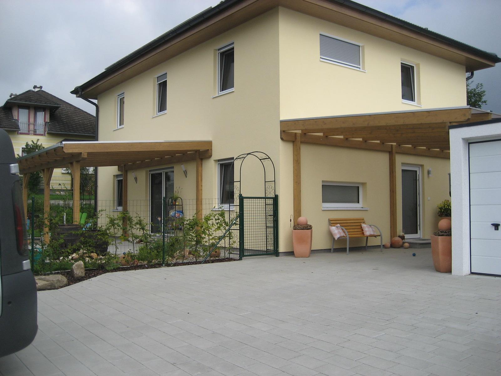 Carport und Terrassenüberdachung mit Thermoclear Stegplatten