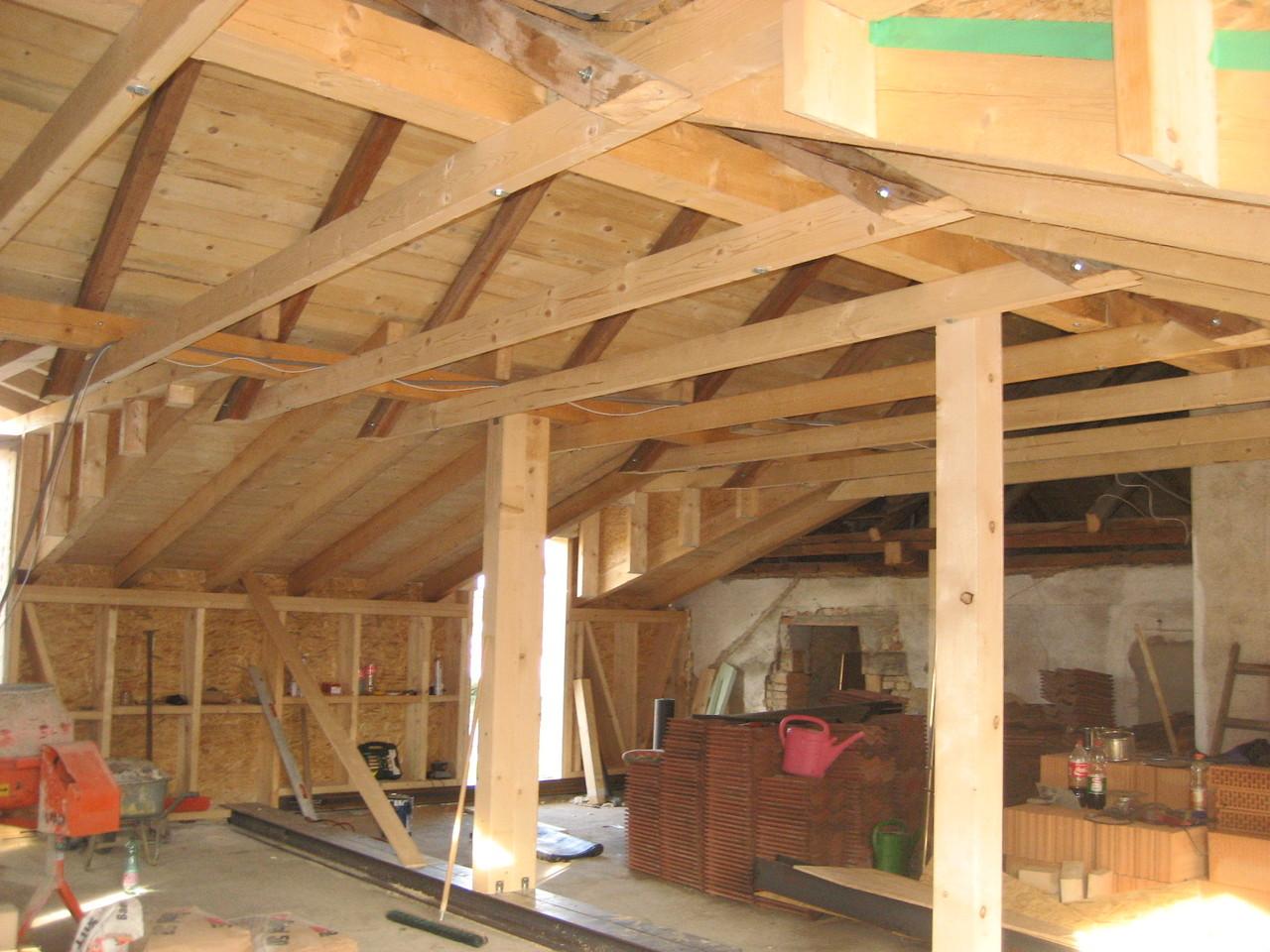 Sanierung - Dachstuhl