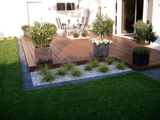 Terrasse mit Massaranduba Dielen