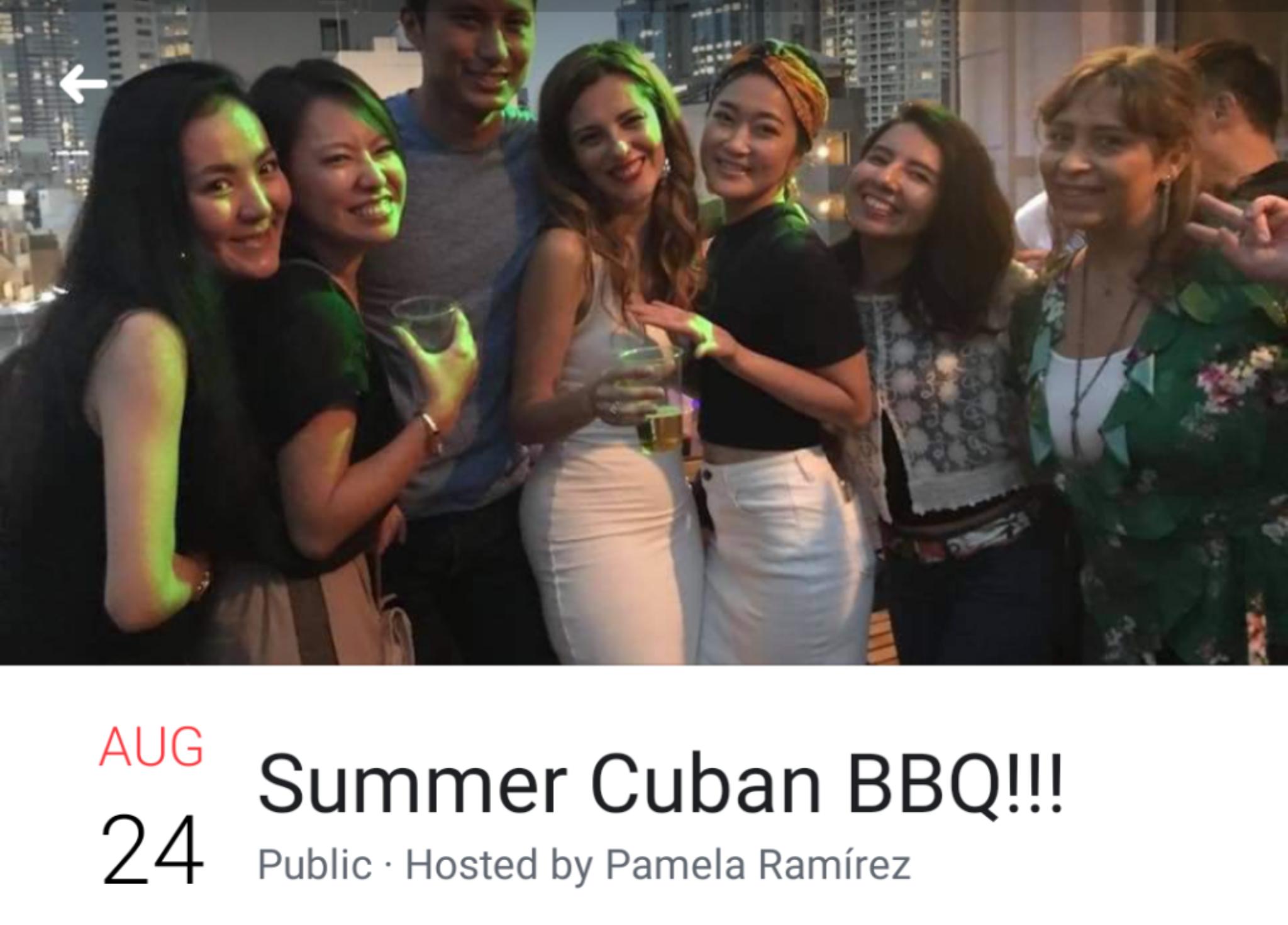 CUBAN BBQ&BUFFET Sayonara 2018