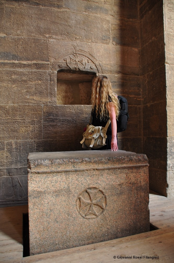 EGITTO nel tempio di Edfu, tracce dei templari
