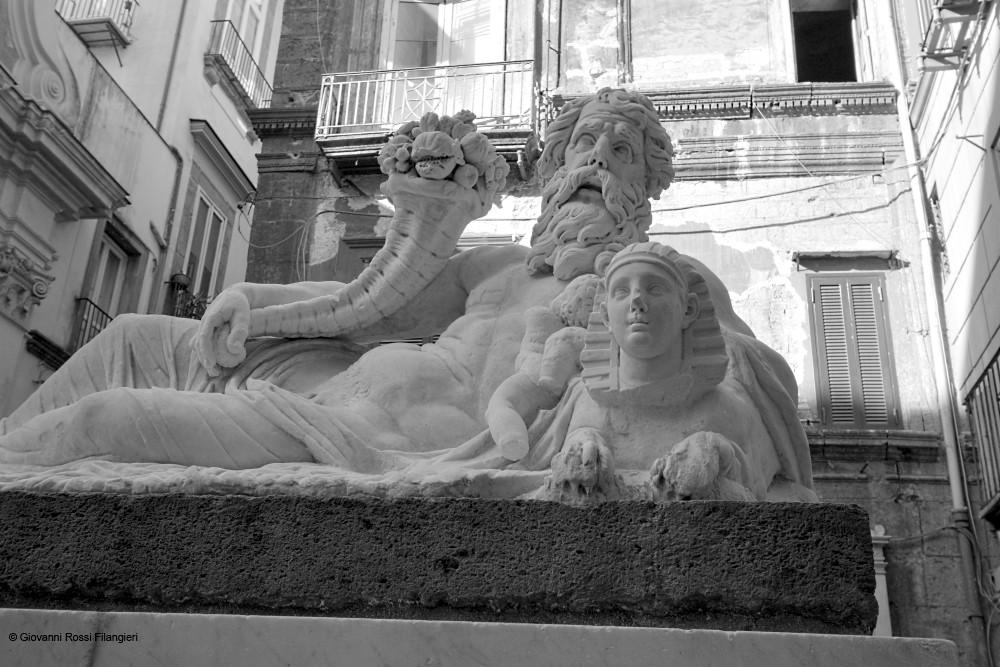 """statua del """"nilo"""" o """"corpo di Napoli"""""""